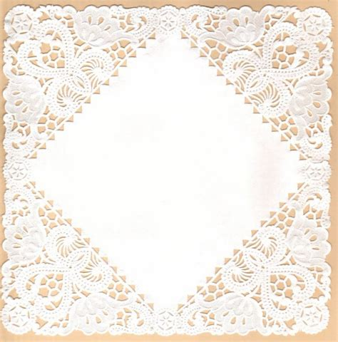 How To Make Paper Lace Doilies - paper lace doilies