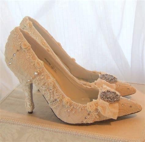 Schuhe Vintage Hochzeit by Wedding Day Hochzeits Schuhe Mit Vintage