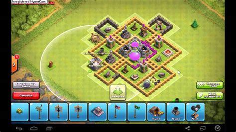 layout cv 7 farming youtube clashofclans layout para cv 7 farm farm loko youtube