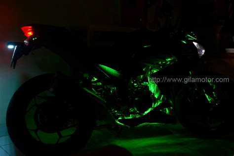 Lu Led Motor Z250 kawasaki z250 the black firefly gilamotor