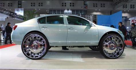 lexus forgiato forgiato fest japan lexus on 32 s big rims custom wheels