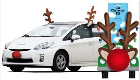 decorate  car  christmas lamettrys