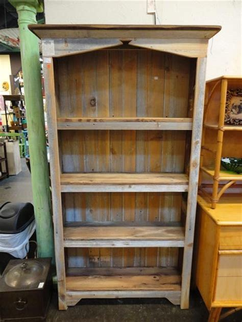 amish barn wood bookcase bookcases free standing