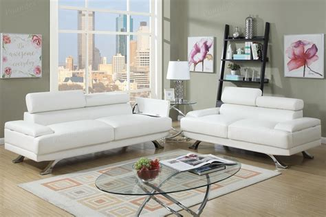 Boyn White Leather Sofa And Loveseat Set Steal A Sofa White Leather Sofa And Loveseat