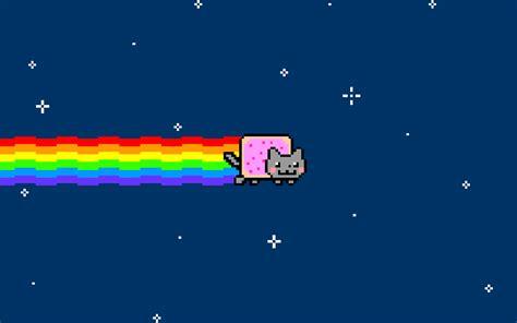 wallpaper nyan cat hd outer space cats rainbows nyan cat wallpaper 1920x1200