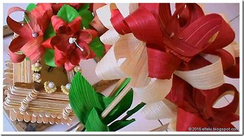 cara membuat lu hias dari bonggol jagung eltelu contoh produk kerajinan fungsi hias dari bahan