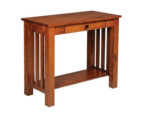 furniture sofa tables mission style sofa table with drawer homesquare furniture