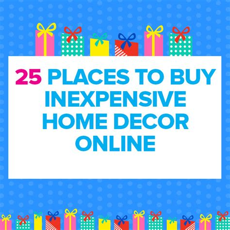 cheap places to buy home decor 25 cheap places to shop for home decor online