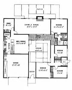 Eichler Atrium Floor Plan by 25 Best Ideas About Joseph Eichler On Eichler