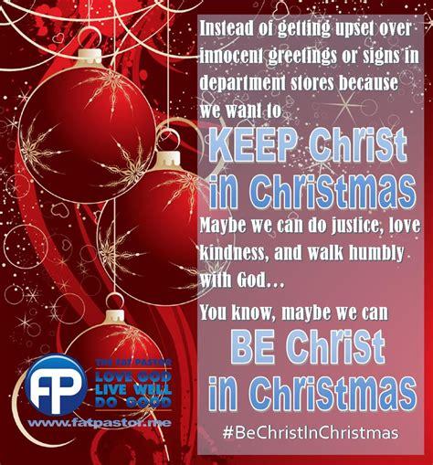 christmas  fat pastor