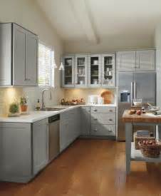 Grey Cabinets In Kitchen schrock grey kitchen cabinets traditional kitchen other by