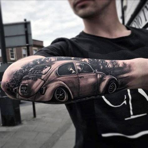 vw tattoo 50 volkswagen vw tattoos for automotive design ideas