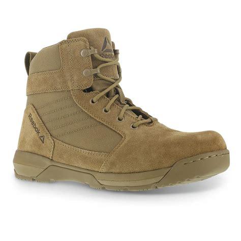 reebok boots reebok s strikepoint 6 quot duty boots 660964 combat