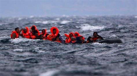 refugee boat sinks 2018 six drown as refugee boat sinks in aegean sea asian