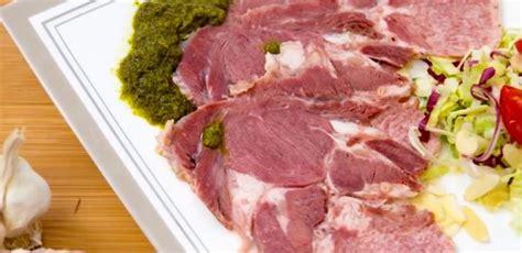 lingua di vitello come si cucina lingua salmistrata di vitello con bagnetto verde