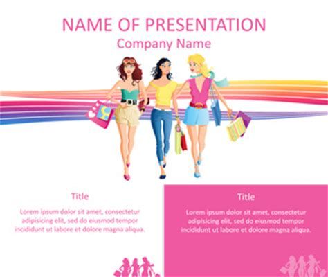 Powerpoint Tips And Templates Shopping Ppt Templates Free