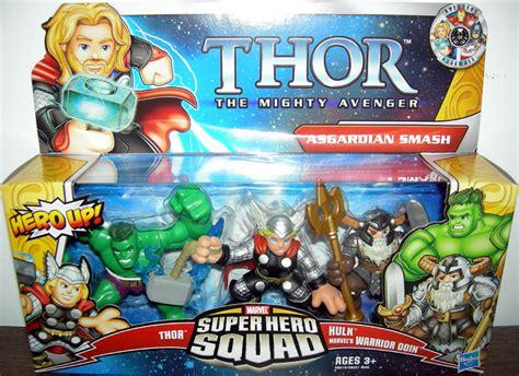 Figure Transformers Shs asgardian smash squad thor mighty avenger