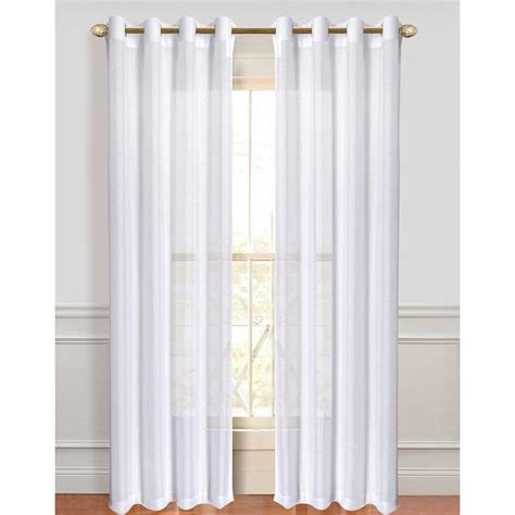 curtain panel sets better homes and gardens faux silk grommeted window panel