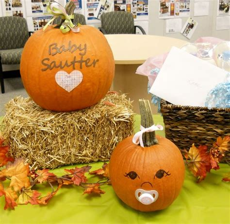 330 Curated Baby Shower Ideas Ideas By Nostalgic Baby Pumpkin Baby Shower Centerpieces