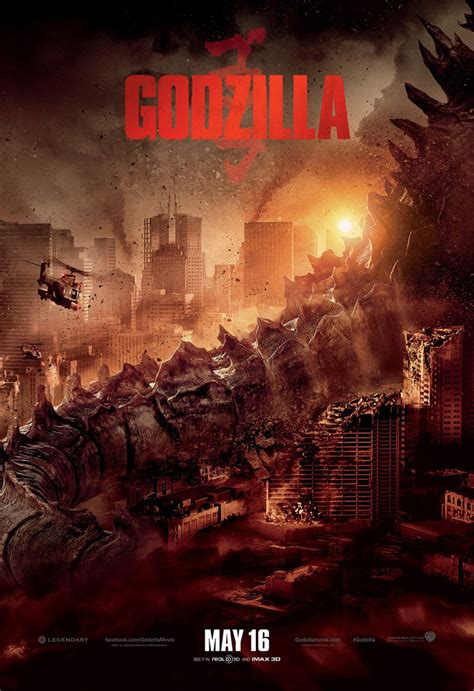 godzilla torrent godzilla 2014 poster 1 trailer addict