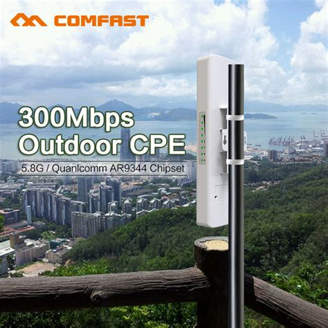Wifi Outdoor for elevator project monitor 5 8g wireless outdoor cpe poe antenna wi fi router 300m repetidor