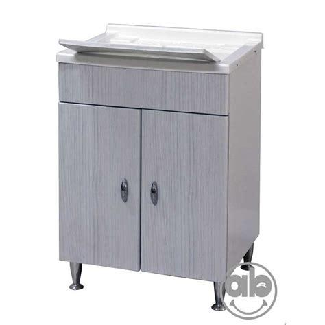 vasca da bagno mobile mobile lavatoio bagno in mdf ricoperto di pvc e vasca in