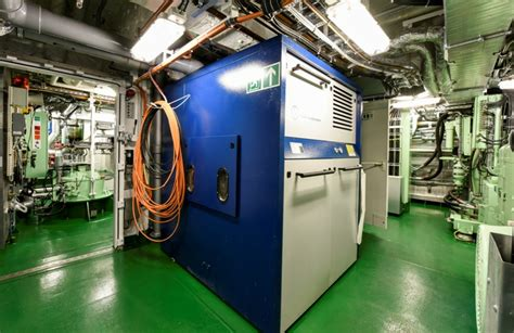 technical room research vessel quot sonne quot glamox