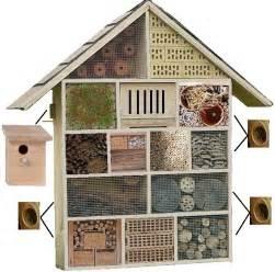 maison des insectes ecole grand modle bois poterie