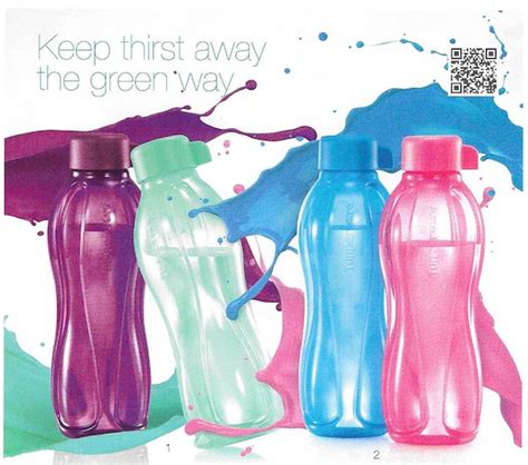 Tupperware Eco 500ml tupperware singapore water bottles bpa free range buy