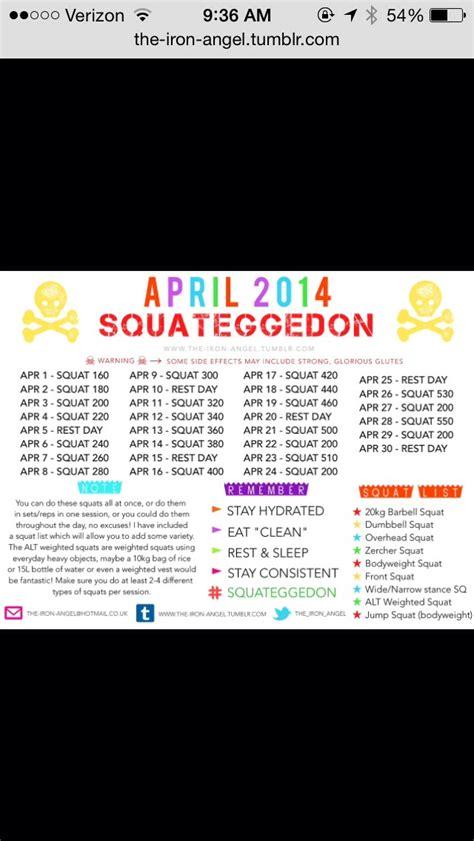 april squat challenge april squat challenge musely