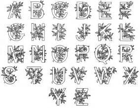 Illuminated Alphabet Templates by A Pinch Of Everything Illuminated Manuscripts