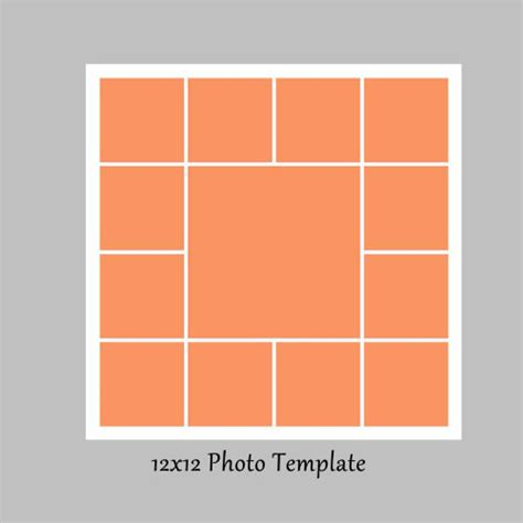 free card photo collage templates collage template