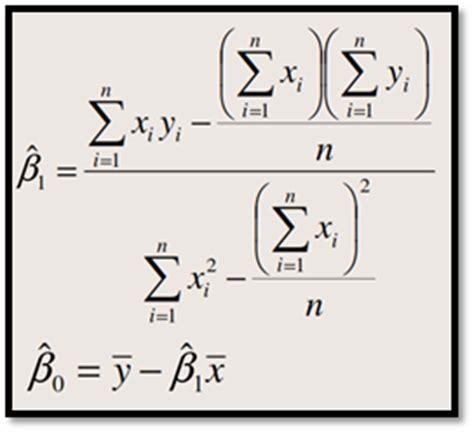 slope dan intersep berbagi ilmu contoh soal regresi sederhana