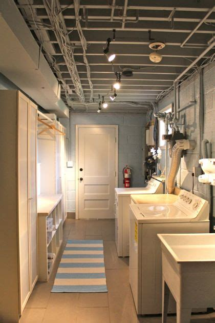 basement laundry room makeover basement laundry room design remodel and makeover ideas