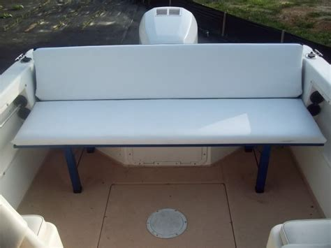 boat bench seat anyone add seating to a walkaround page 1 iboats