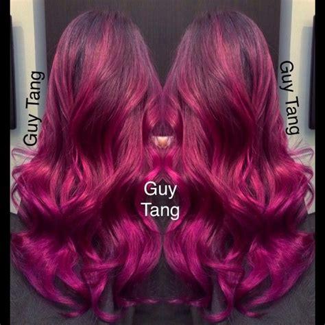 fuschia hair color 25 best ideas about fuschia hair on