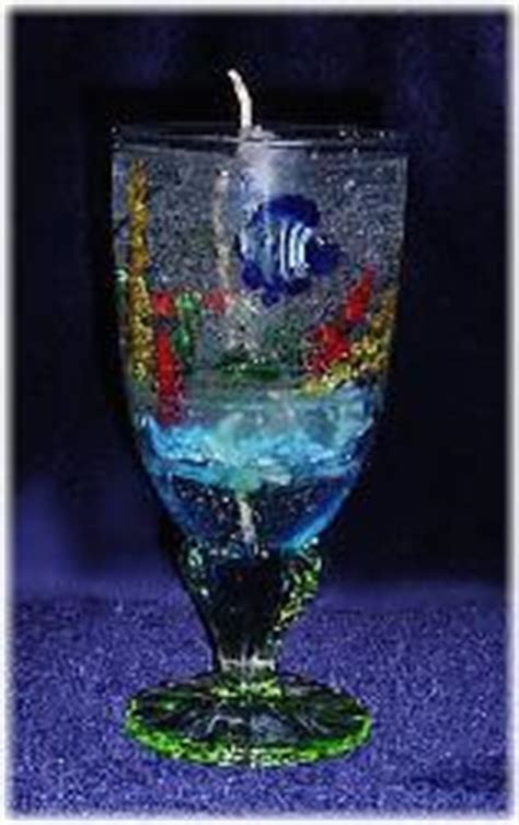 Handmade Gel Candles - the sea gel candles handmade crafts