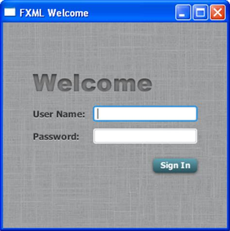 java swing login screen getting started with javafx using fxml to create a user