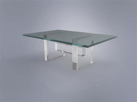 Hamlet Coffee Table Base Plexi Craft Signature Collection