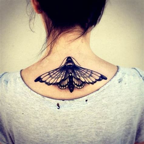 tattoo neck butterfly neck tattoo butterfly moth traditional tattoo love