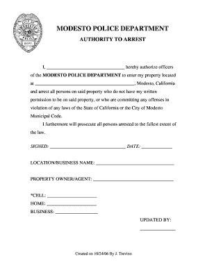 trespassing letter fill sign printable
