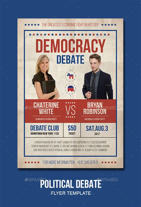 free political flyer templates 21 political flyer templates psd ai illustrator