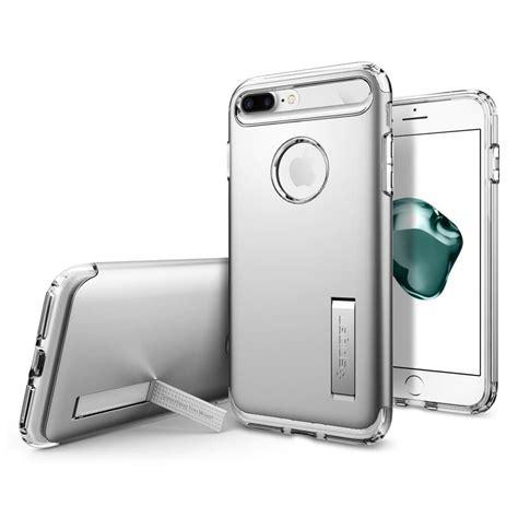 Spigen Iphone 7 Slim Armor Satin Silver Diskon spigen 174 slim armor 043cs20313 iphone 8 plus 7 plus