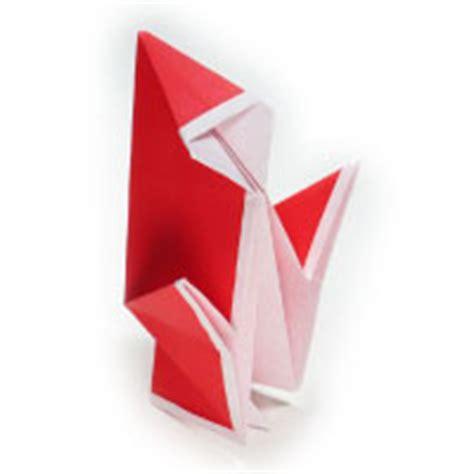 Simple Origami Santa Claus - how to make origami models