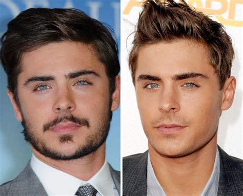 Beard No24 No42 No05 zac efron with or without the beard girlsaskguys