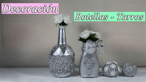 decorar botellas de cristal con estaño como decorar botellas de cristal youtube
