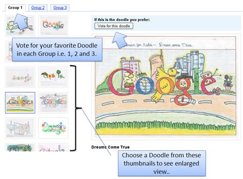 doodle 4 how to vote how to vote in doodle for contest 2010 tech