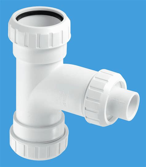 Mcalpine Plumbing Products by Surefit Swept With 19mm Pushfit Branch Mcalpine Plumbing Products