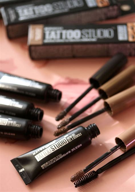 tattoo brow maybelline review boots maybelline tattoo studio waterproof brow gel makeup and