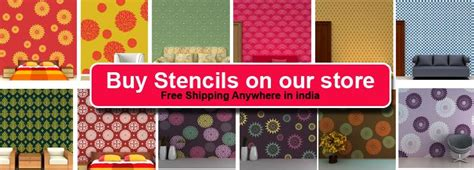 pattern roller india online shopping india shop online for wall stencils
